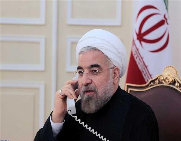 روحانی در تماس تلفنی مکرون : تعهدات برجام باید کامل اجرا شود