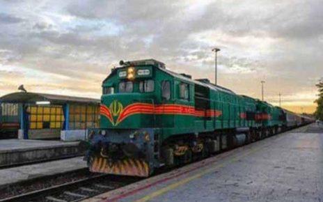 قطار امداد و انتقال مواد غذایی