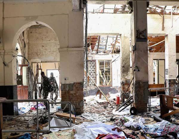 بمب گذاری در سریلانکا
