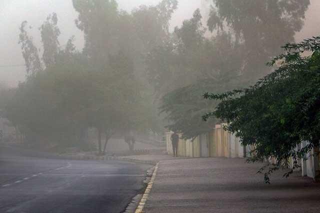 وزش شدید باد در تهران