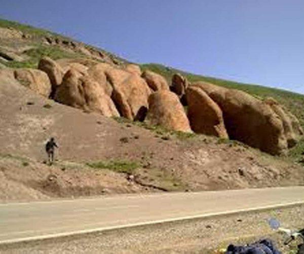 جاده ای با جاذبه معکوس در ایران
