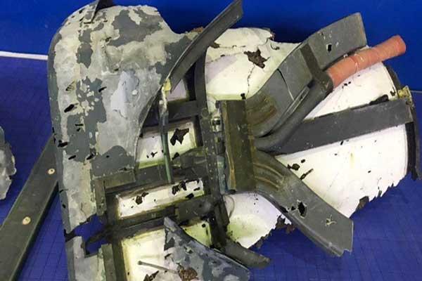 اولین فیلم از هدف قرار گرفتن پهپاد آمریکایی RQ-4