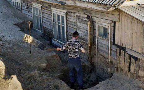 روستایی عجیب در روسیه