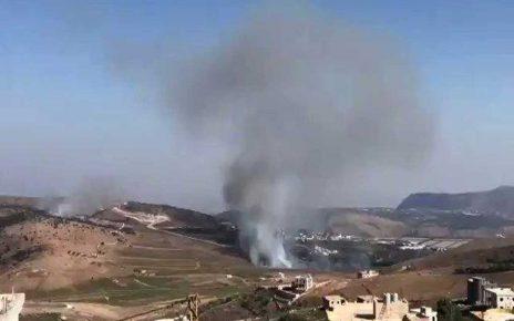 آغاز درگیری حزب الله و اسرائیل در جنوب لبنان