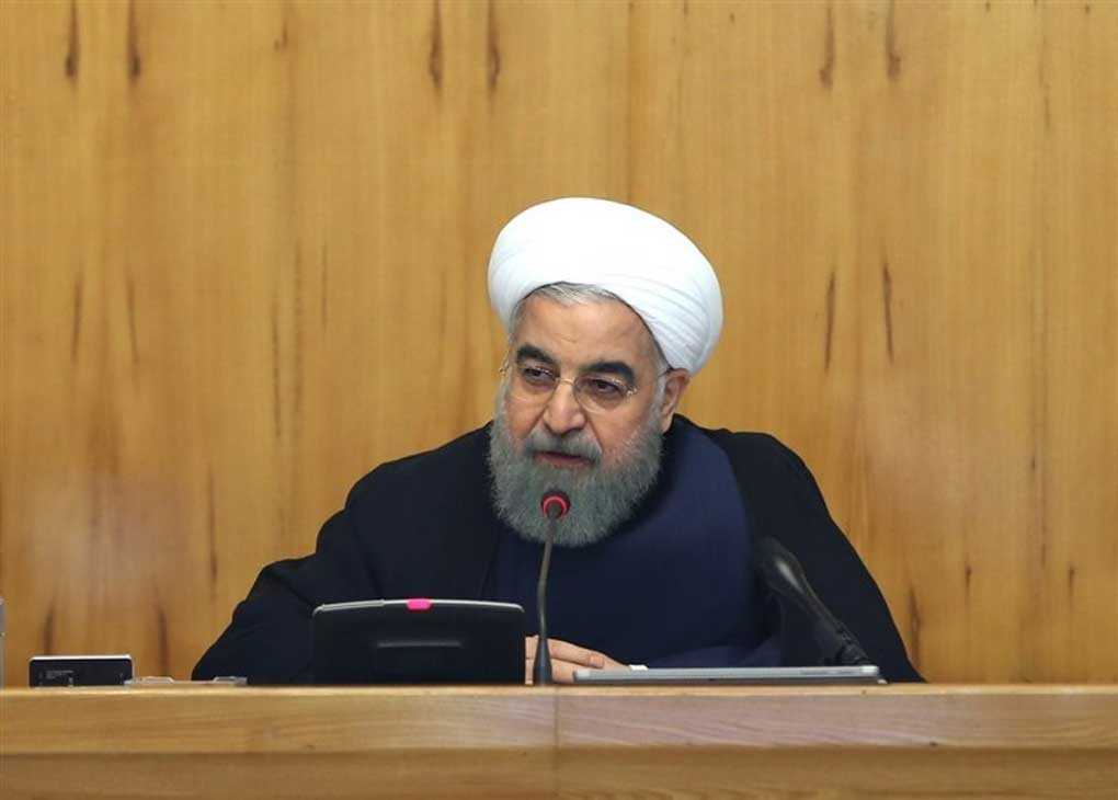 روحانی: آمریکا باید سیاست جنگ طلبی را کنار بگذارد