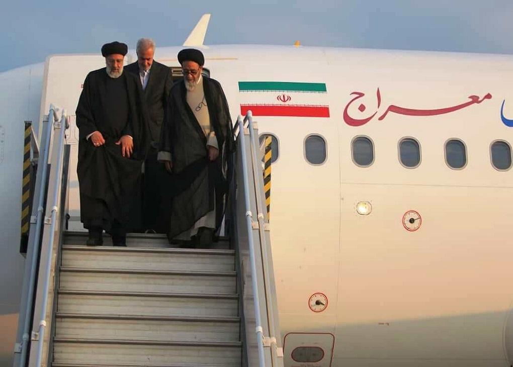 رئیسی به تبریز سفر کرد