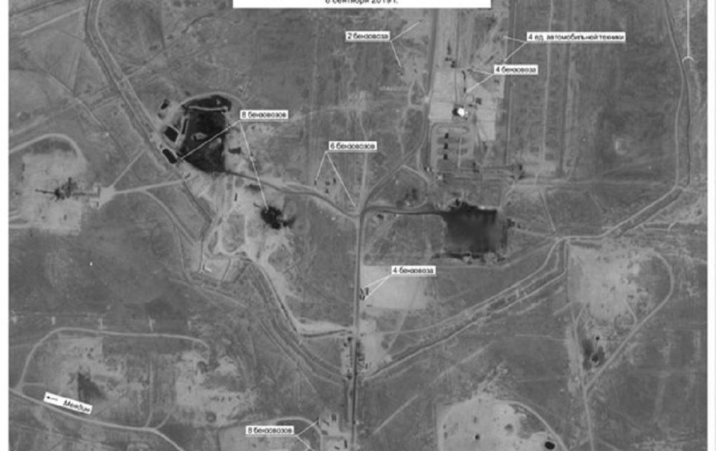 عکسهای ماهواره ای قاچاق سوخت از سوریه