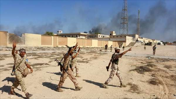حمله پهپاد اماراتی به لیبی