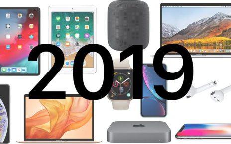 محصولات 2019 اپل
