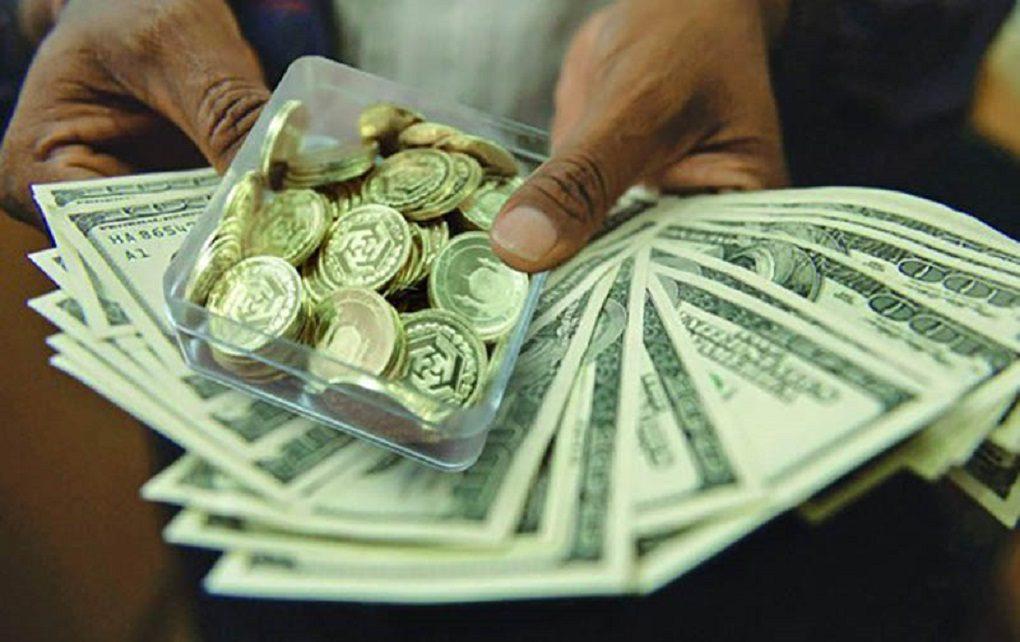 قیمت ارز و سکه چهارم اذر ماه
