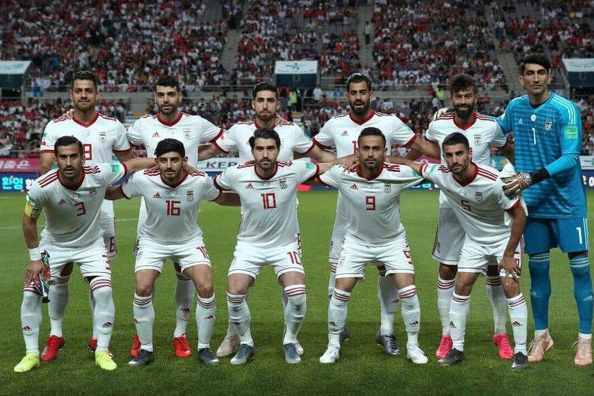ترکیب  دو تیم ایران و عراق مشخص شد