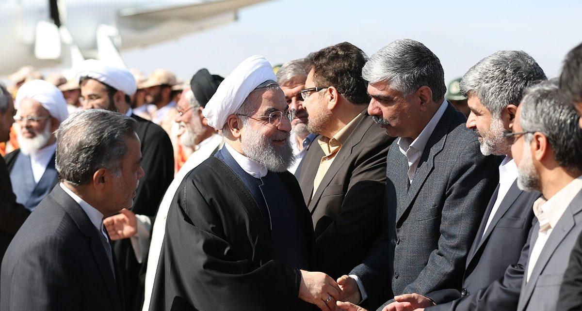 سخنرانی رئیس جمهور در یزد