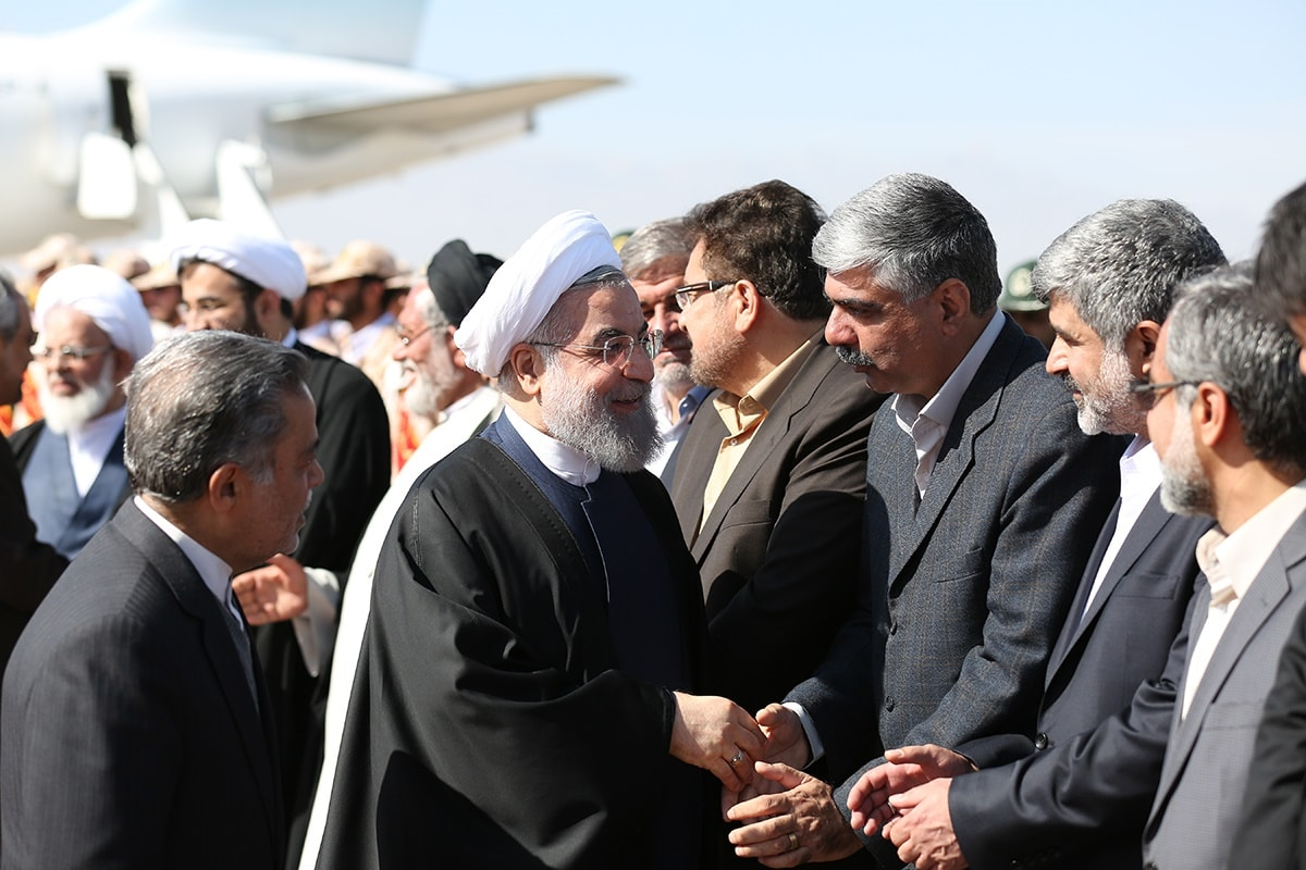 رئیس جمهور در یزد: روزهای سختی بر مردم ما گذشت