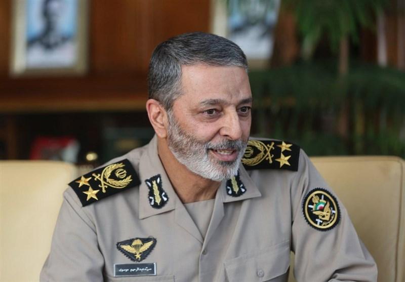 اظهارات فرمانده ارتش درباره پهپاد