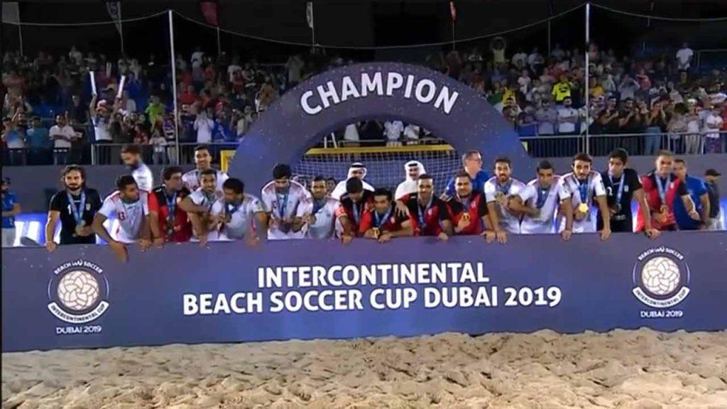 قهرمانی ایران در جام بین قاره ای