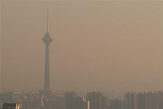 تهران امروز آلوده تر از دیروز