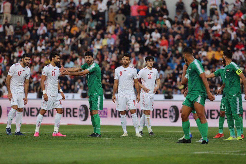 باخت ایران مقابل عراق