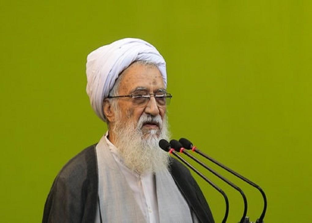 امام جمعه موقت تهران :عزّت شما در گرو مقاومت است.