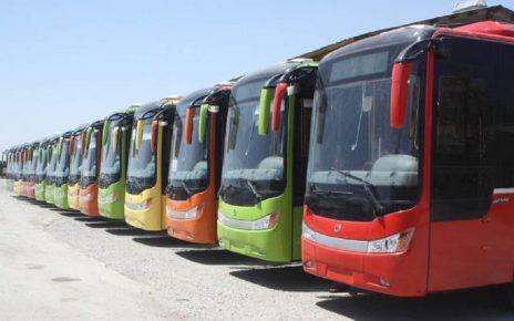 فروش ساعتی صندلی های اتوبوس