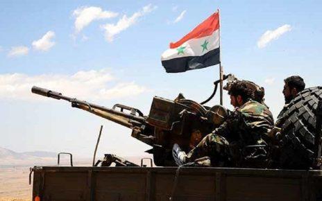 مقابله ارتش سوریه با تروریست ها
