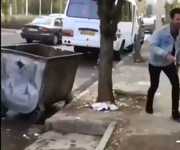 آزار یک کودک زباله گرد