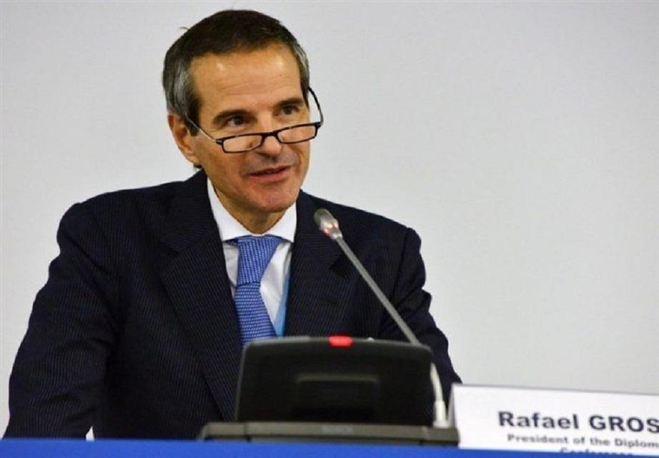 رافائل گروسی مدیرکل جدید آژانس |