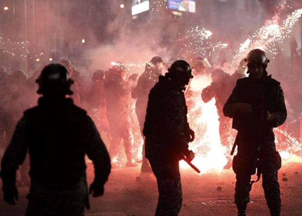 شب گذشته نا آرامی ها در بیروت ادامه یافت