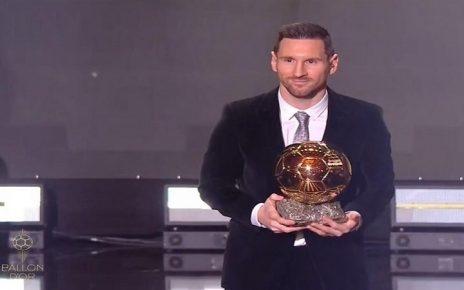 لیونل مسی برنده توپ طلای 2019