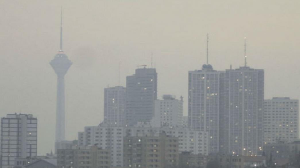 هوای تهران 23 آذر