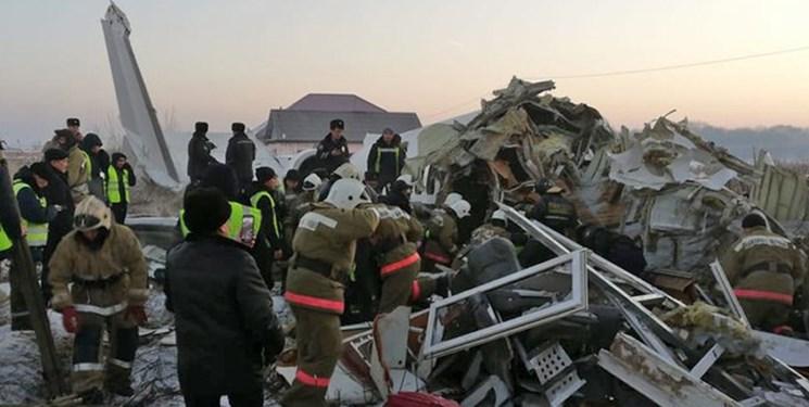 سقوط یک فروند هواپیما