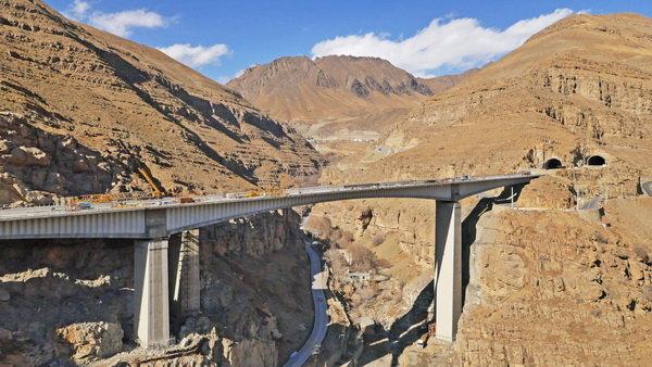 افتتاح آزمایشی آزادراه تهران شمال