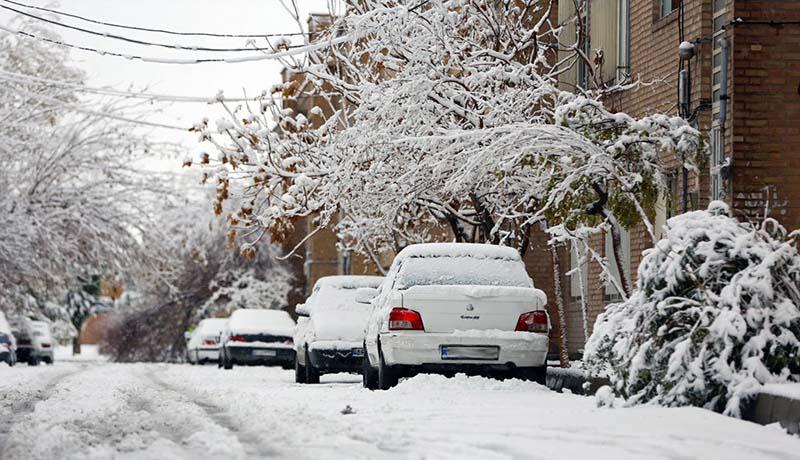 تعطیلی مدارس استان تهران به دلیل بارش برف شدید