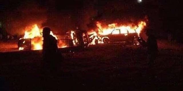 گروه امدادی حشد الشعبی در شمال بغداد هدف نیروهای آمریکایی قرار گرفت