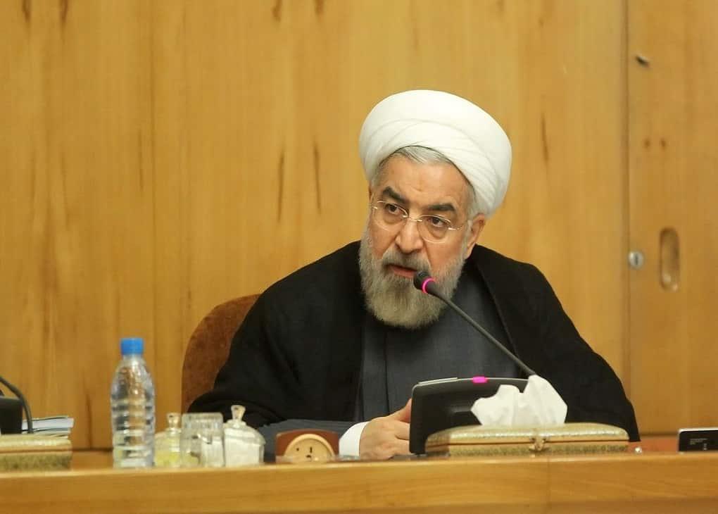 حسن روحانی در جلسه هیئت دولت