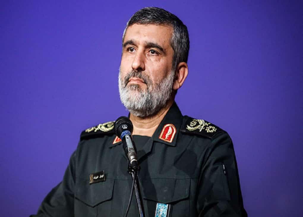 نشست خبری سردار حاجیزاده درباره سقوط هواپیمای اوکراینی