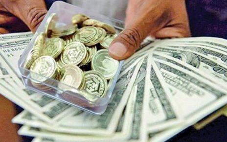 قیمت دلار و سکه ۱۱ دی