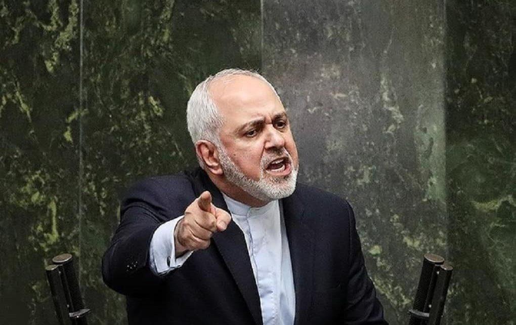 ظریف در جلسه علنی امروز مجلس