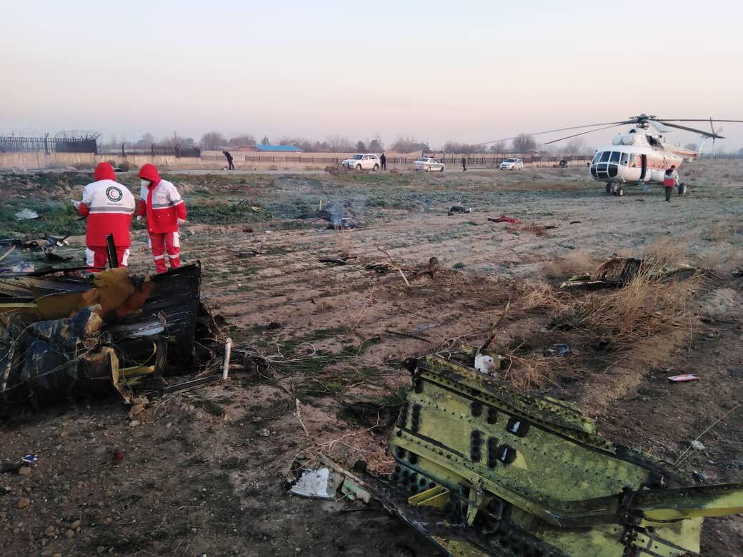 یکی از جعبه های سیاه هواپیمای ۷۳۷ اوکراین پیدا شد