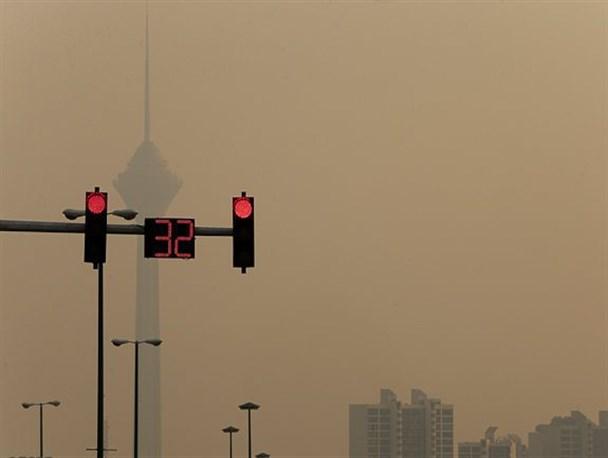 هوای تهران در مرز آلودگی قرار گرفت