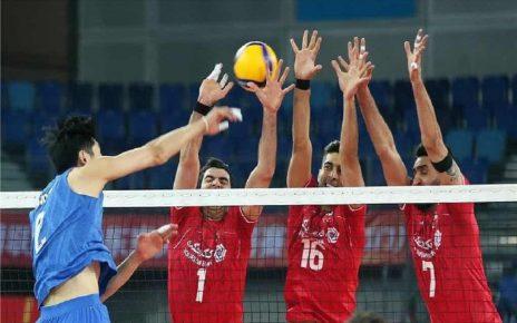 صعود والیبال ایران به المپیک