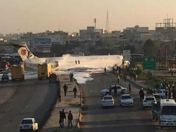 حادثه هواپیمای بوئینگ کاسپین تهران ماهشهر