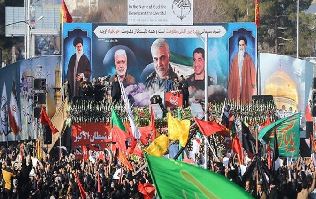تشییع پیکر سردار سلیمانی در کرمان