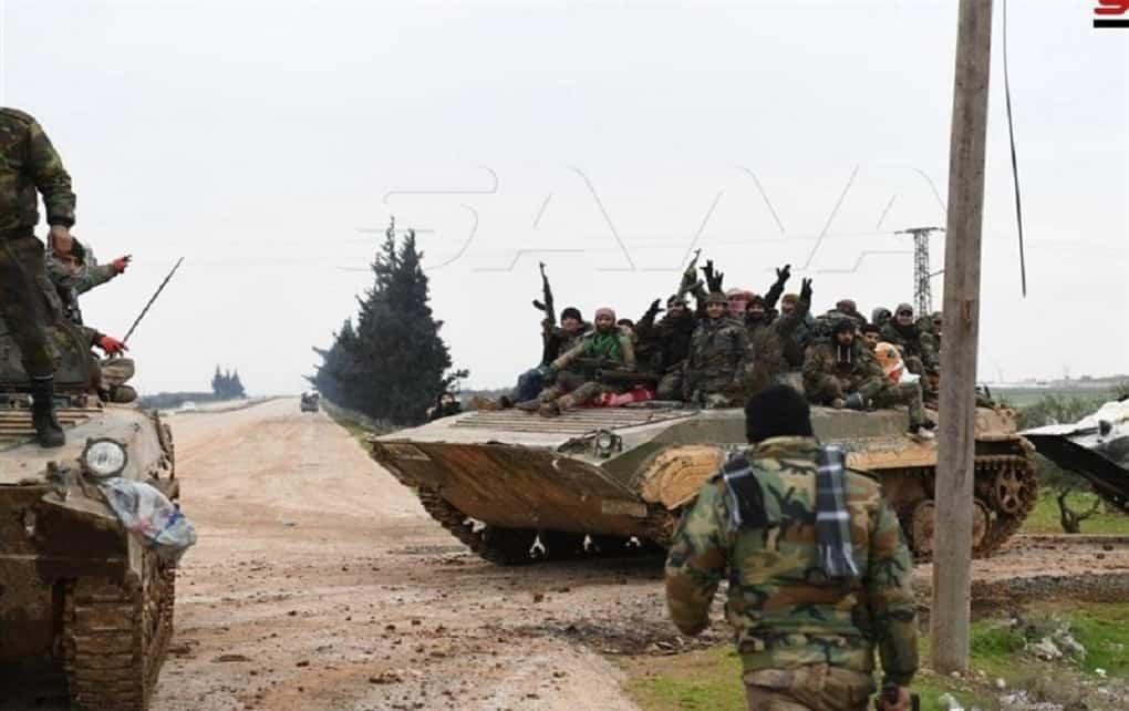 تسلط ارتش سوریه بر پایگاه جبهه النصره در حومه حلب