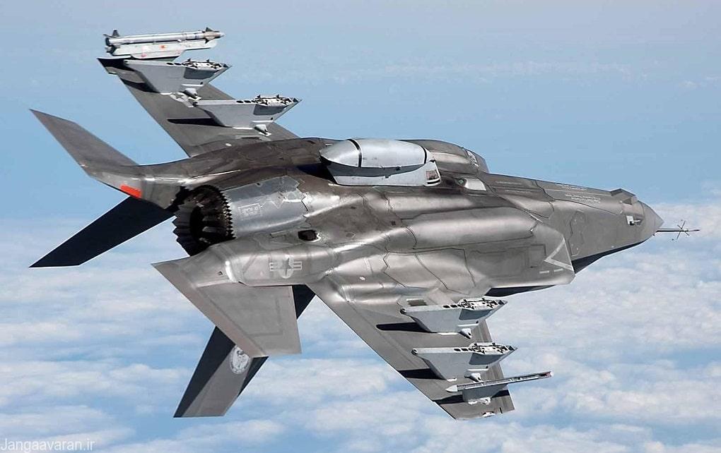 استقرار جنگندههای اف-۳۵ آمریکا در عربستان