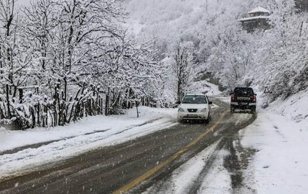 بارش برف و باران در کشور