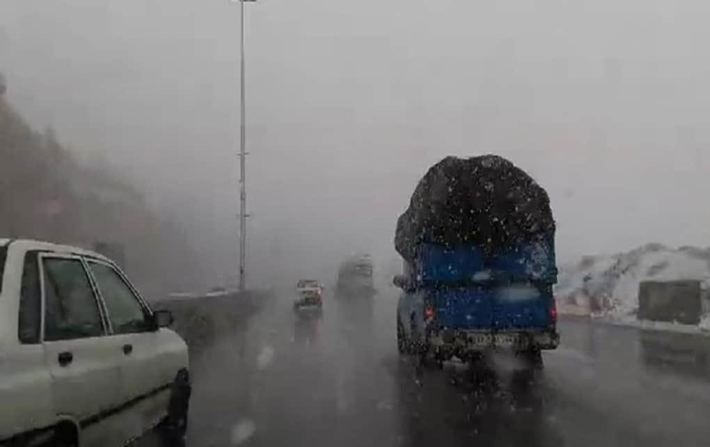 بارش سنگین برف در خراسان شمالی