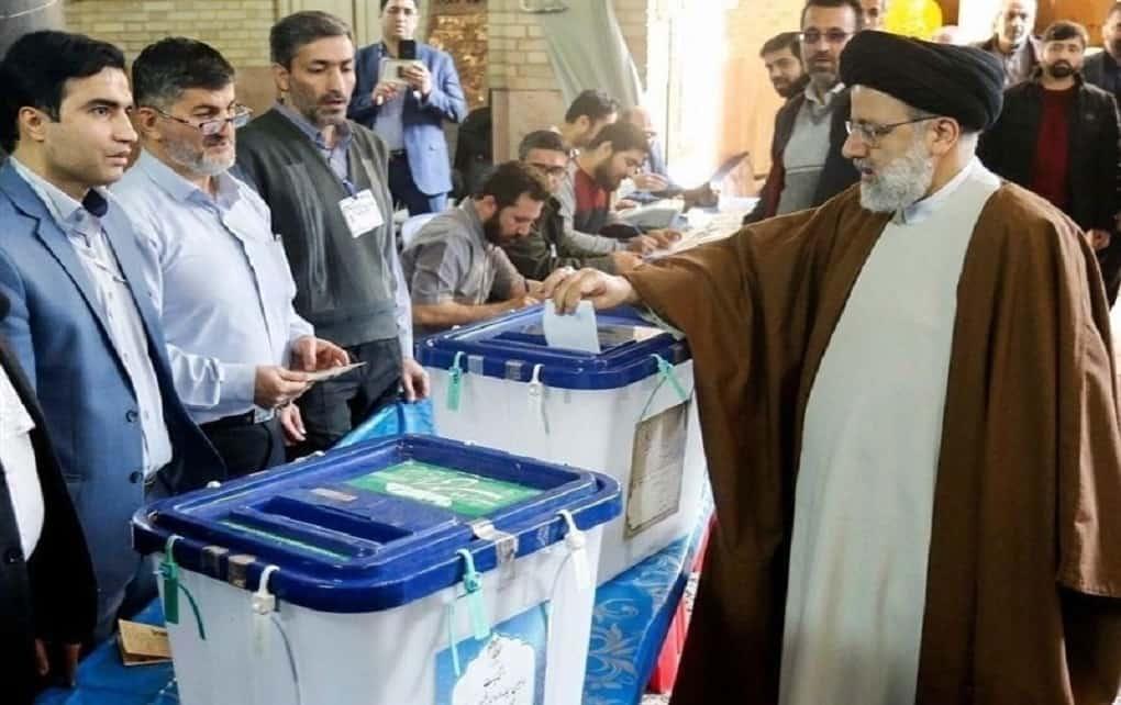 شرکت رئیسی در انتخابات
