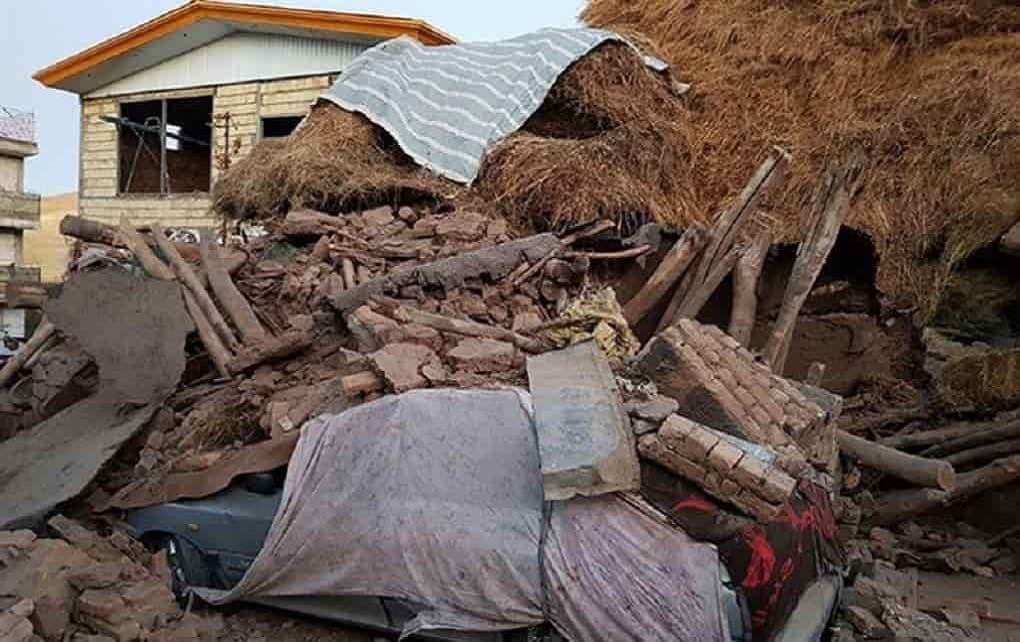 خسارت زمین لرزه در آذربایجان غربی