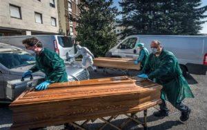 میزان مرگ و میر در ایتالیا