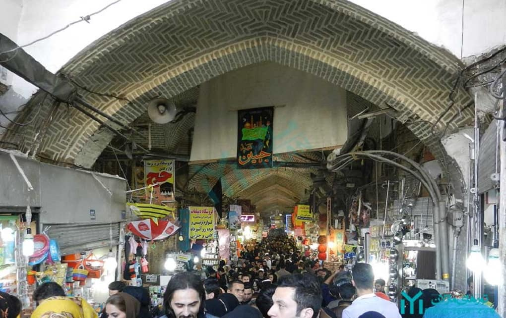ضدعفونی بازار بزرگ تهران